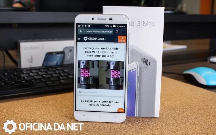 ASUS libera atualização do Android Oreo para o Zenfone 3 Max. Brasileiros já começaram a receber.