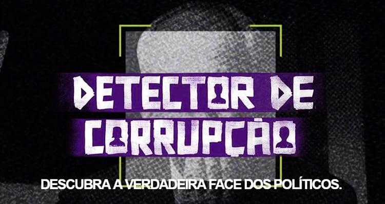 Detector de Corrupção - Ficha de políticos