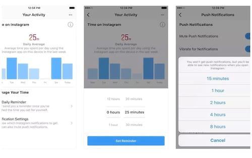 Facebook e Instagram ganham recurso para gerenciar o tempo que você os usa