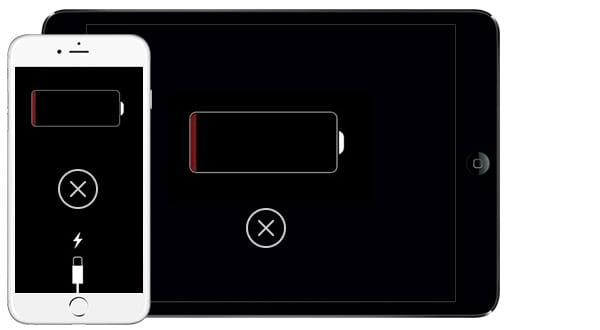 Conecte o iPhone no carregador e aguarde