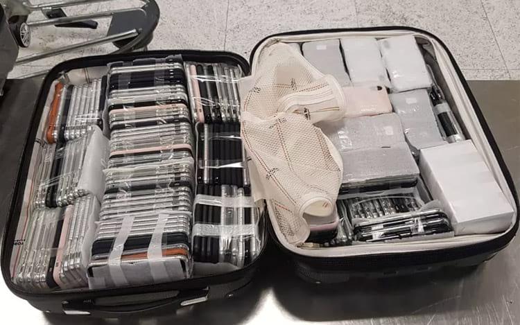 Malas são apreendidas no Aeroporto de Garulhos