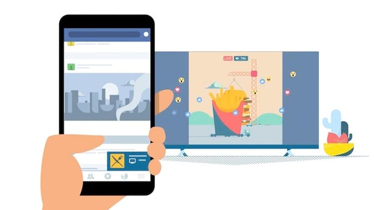 Assistir vídeo do Facebook no Chromecast