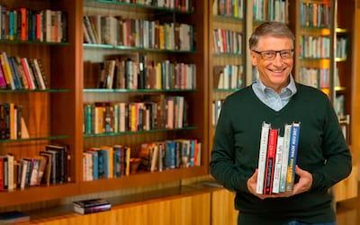 As leituras que construíram Bill Gates