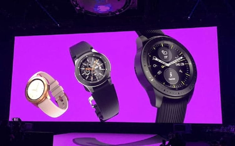 Samsung revela Galaxy Watch com Tizen