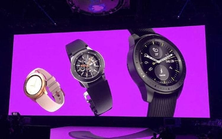 Samsung revela Galaxy Watch com Tizen.