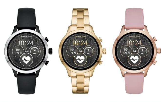 Michel Kors lança smartwatch com visual básico.