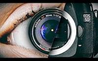 Qual a resolução do olho humano?
