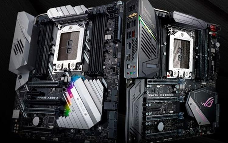 ASUS anuncia suporte a 2ª geração de processadores AMD Ryzen Threadripper para placas-mãe série X399