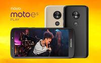 Moto E5 Play chega ao Brasil com Android Go por R$ 799