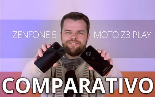 Comparativo Zenfone 5 vs Moto Z3 Play
