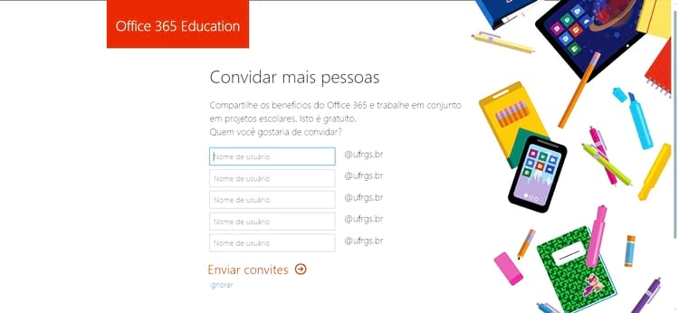 Office 365 Education grátis