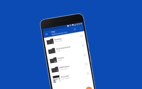 Microsoft OneDrive para Android chega para 500 milhões de aparelhos