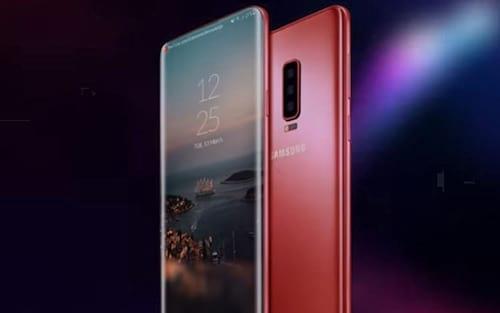 Conceito sobre o Galaxy S10 mostra três câmeras na parte traseira e pouquíssima borda