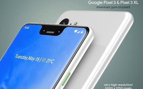 Google Pixel 3 e 3 XL: renderizações demonstram o visual dos aparelhos