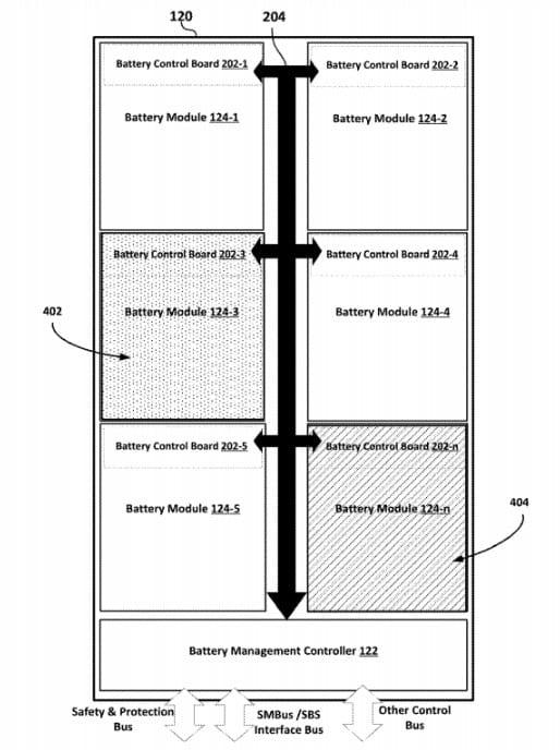 Patente registrada pela Samsung.