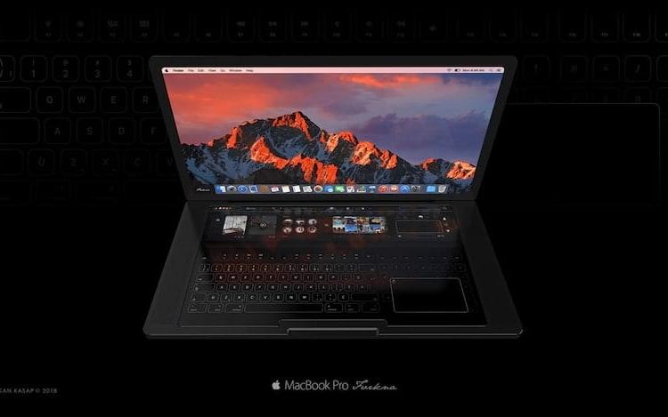 MacBook Pro recebe versão sem teclado físico em novo conceito.