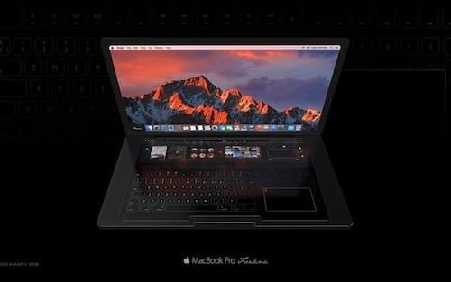 MacBook Pro recebe versão sem teclado físico em novo conceito