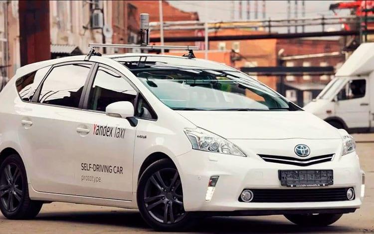 Yandex inicia os testes de carros autônomos na Rússia.