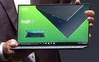 Acer apresenta nova versão do Swift 7 e afirma ser o laptop mais fino do mundo