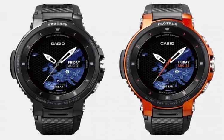 Casio anuncia relógio inteligente durante a IFA 2018.