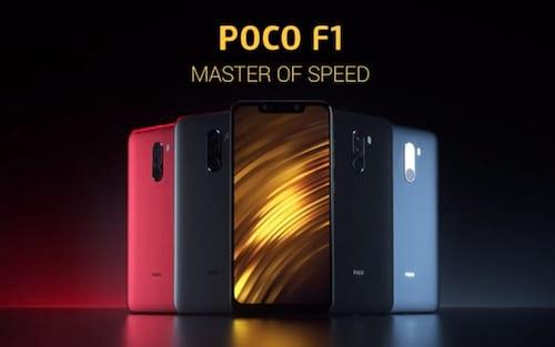 Xiaomi Pocophone F1 vende mais de 60 mil unidades em cinco minutos