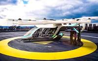 Uber pretende testar seu táxi voador no Brasil