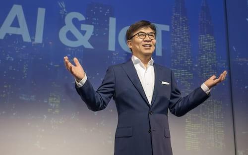 CEO da Samsung diz que fará investimento bilionário em pesquisas de IA