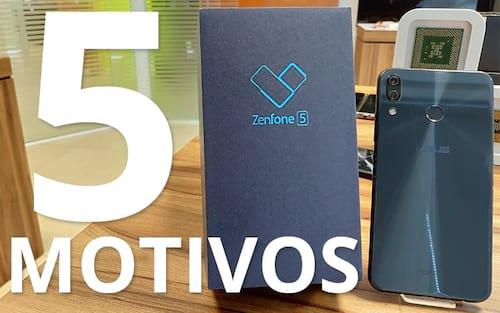 5 motivos para comprar o Zenfone 5