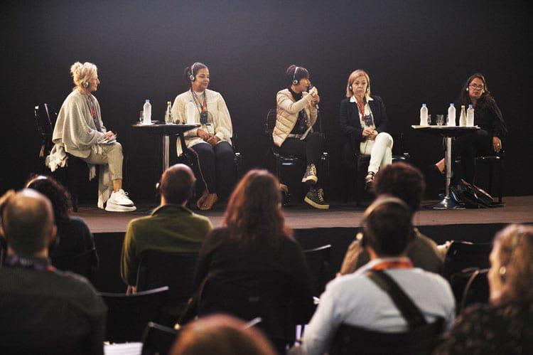 Uma série de painéis discutiram o audiovisual no Brasil