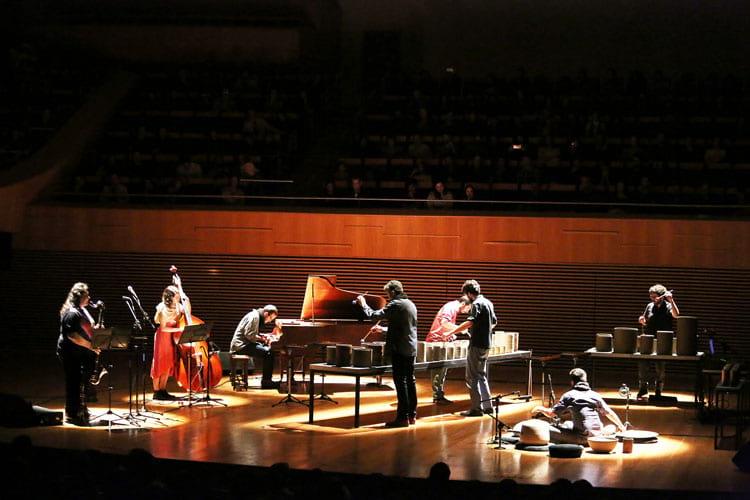 """O concerto """"Mineral"""" foi exibido na Sala Minas Gerais"""
