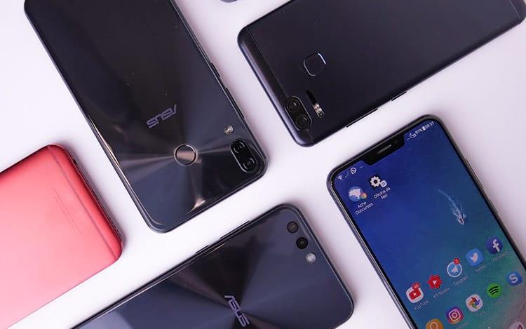 Os 5 melhores smartphones da Asus em 2018
