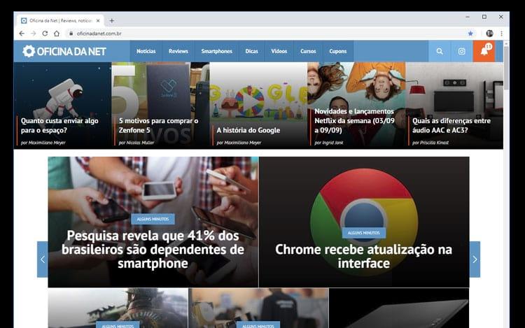 Google Chrome Versão 69.0.3497.81