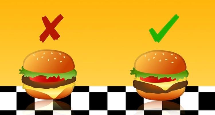 Erro no emoji de hambúrguer foi corrigido.