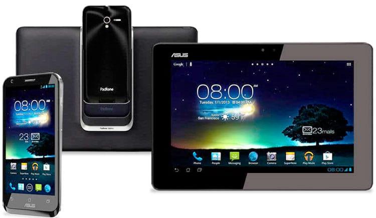 Padfone podia ser transformado em um tablet ou notebook em segundos