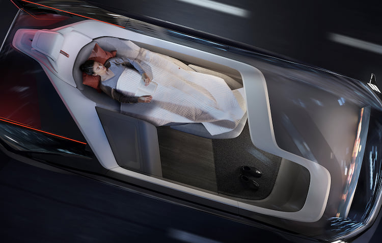 Carro conceito da Volvo.