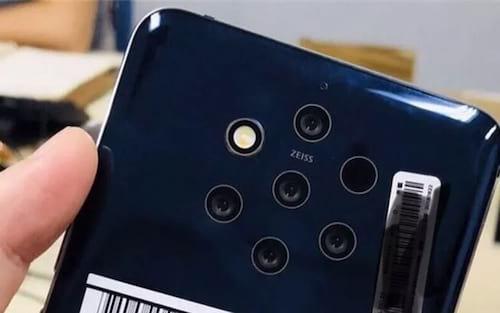 Nokia estaria trabalhando em um dispositivo com cinco câmeras