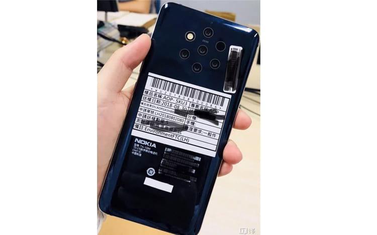 Nokia 10 deve ser revelado com cinco câmeras traseiras