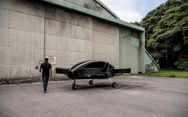 Startup britânica pode ter taxis voadores até 2022.