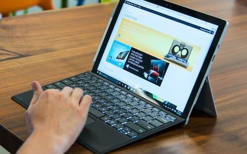 Surface Pro 3 e 5 ganha  atualização da Microsoft