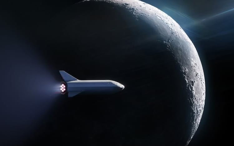 Space X anuncia primeiro contrato de turismo lunar