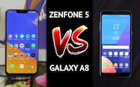 Comparativo Zenfone 5 vs Galaxy A8 - Qual a melhor opção para você?