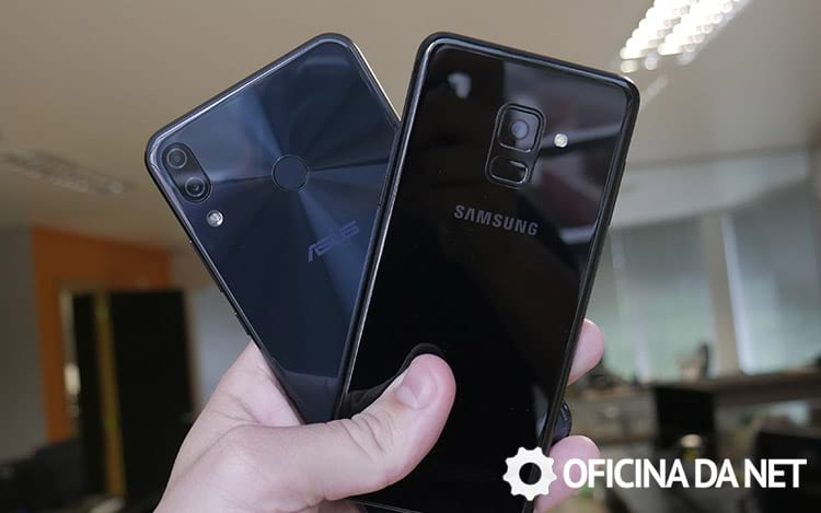 Zenfone 5 vs Galaxy A8