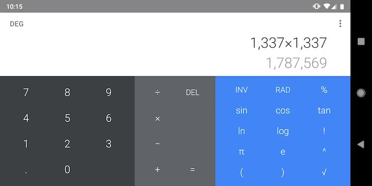 Google libera atualização para aplicativo Calculadora com Material Design.