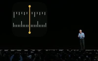 Como usar o aplicativo Medidas, nativo no iOS 12