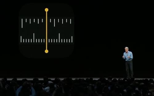 Como usar o aplicativo Medidas, nativo no iOS 12