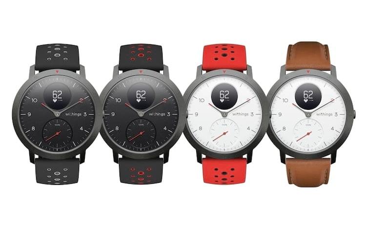 Withings anuncia seu primeiro smartwatch voltado para o setor fitness.