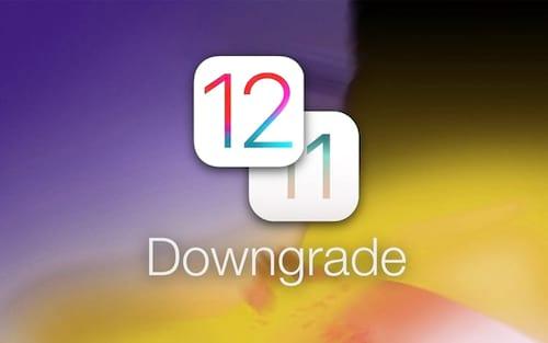 Como fazer downgrade do iOS 12 para o iOS 11?