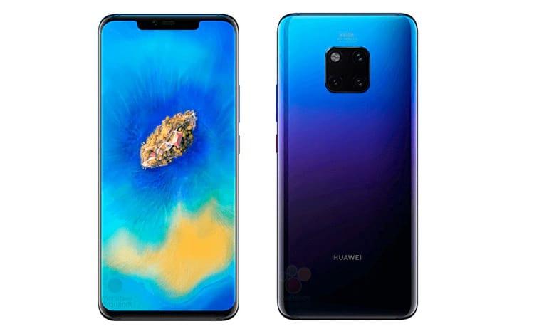 Suposto Huawei 20 Pro