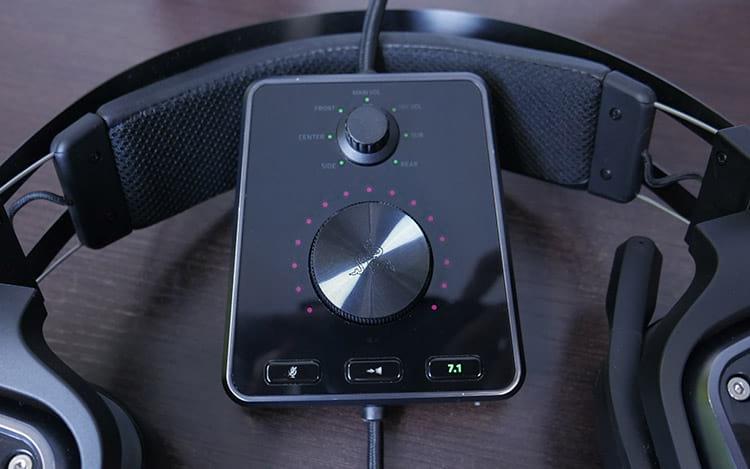 Razer Tiamat 7.1 V2 - Controle de áudio