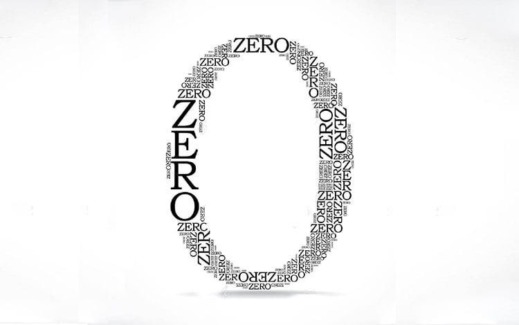 A importância do zero